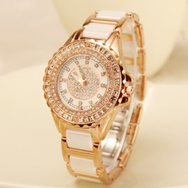 Luxurious All Shining Zircon Decorated Watch