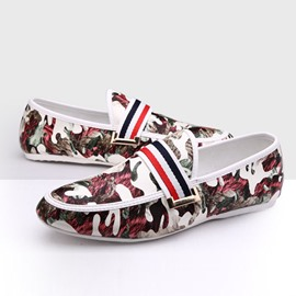 Ericdress Camouflage Moccasin-Gommino