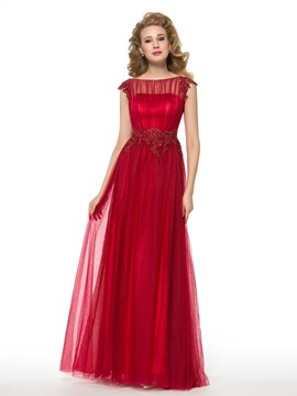 Ericdress charmante Bateau A-Line Mutter der Brautkleid