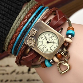 Ericdress Multi-Layers Decorated Vogue Watch