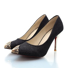 Ericdress Sequins Decoration Pointed-toe Pumps
