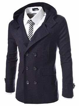 Cyber Monday Fashion Trench Coats for Men Sale Online - Ericdress.com