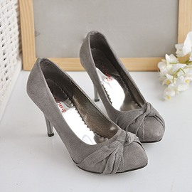 Ericdress OL Suede High Heel Pumps