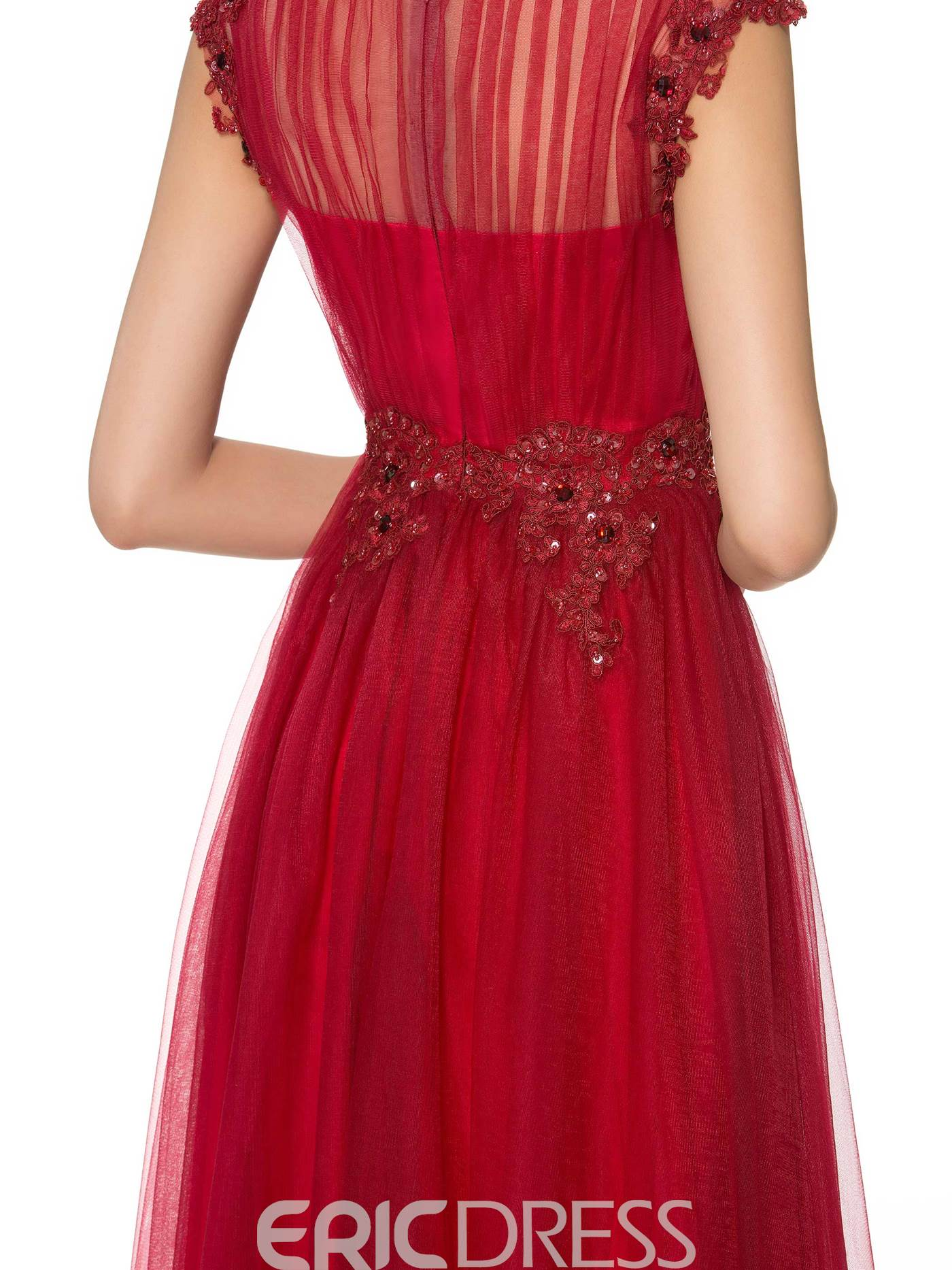 Ericdress Charming Bateau A Line Mother of the Bride Dress
