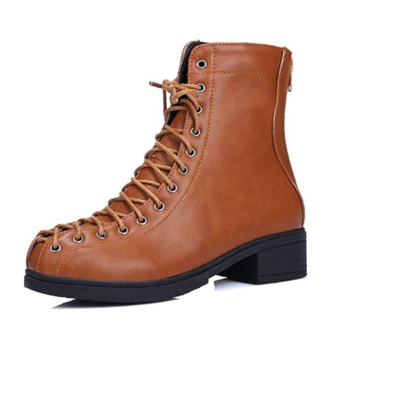 Ericdress Hot Selling Lace-up Ankle Boots