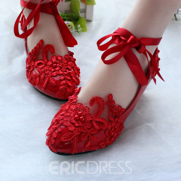 Ericdress Lace Flat Wedding Shoes For Sale