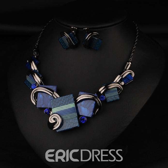 Ericdress Temperament Zircon Jewelry Set