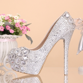 914bc2608 Ericdress Fantastic Rhinestone Wedding Shoes