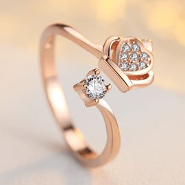 Cute Crown Decorated Concise S925 Silver Ring