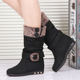 Ericdress Modern Mid-calf Flat Boots