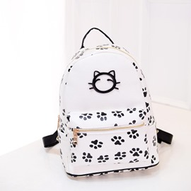 Ericdress Leisure Cute Cat Print Backpack