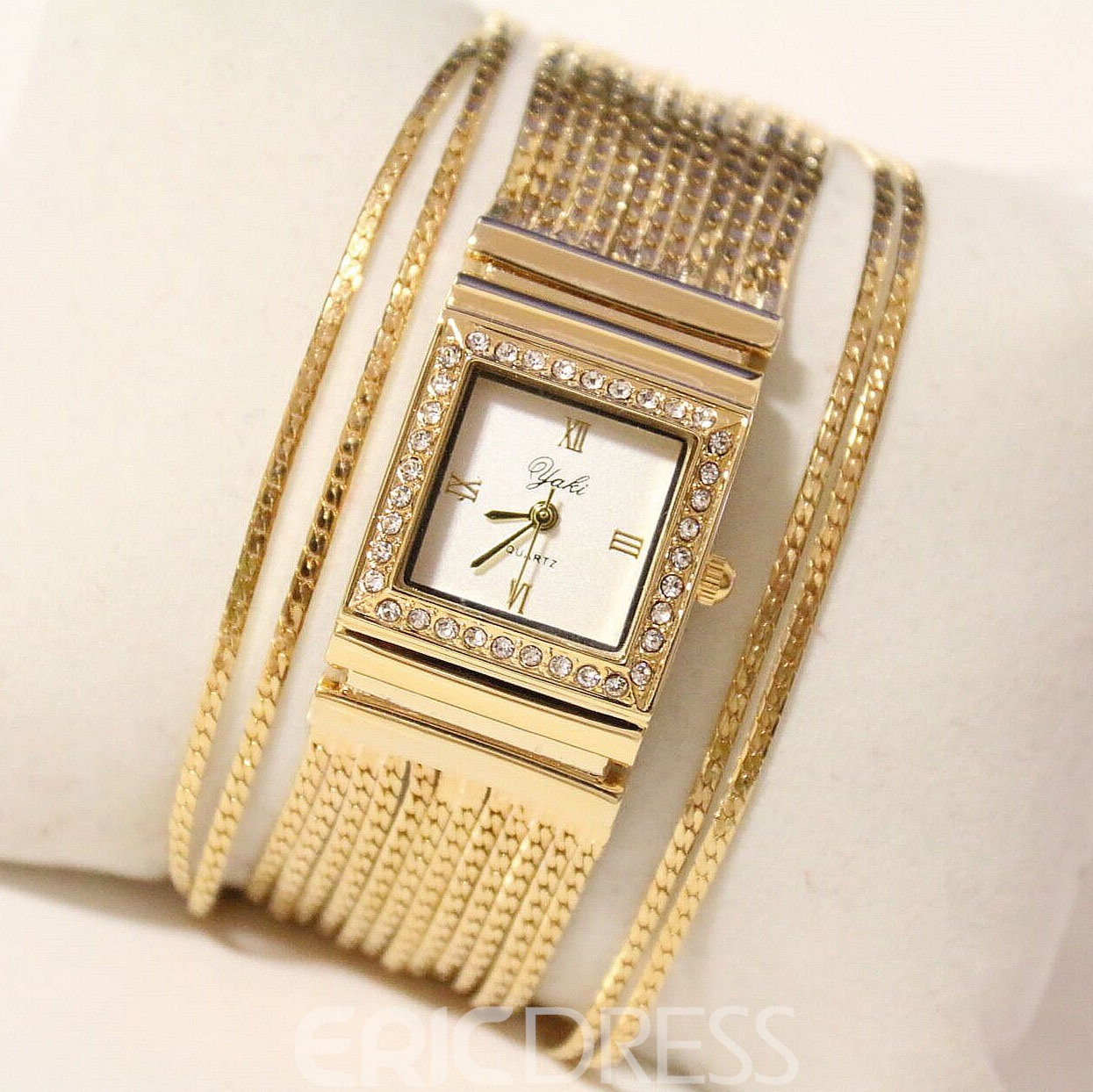 Unique Multi-layers Alloy Female Watch