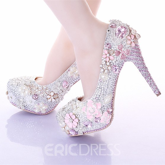 Ericdress Princess Luxurious Rhinestone Wedding Shoes