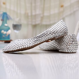 133898460 Ericdress Glittering Rhinestone Wedding Shoes