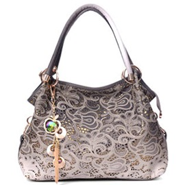 Ericdress Vintage Hollow Carving Flower Handbag