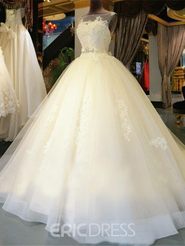Ericdress Beautiful Ball Gown Wedding Dress 11609165 - Ericdress.com