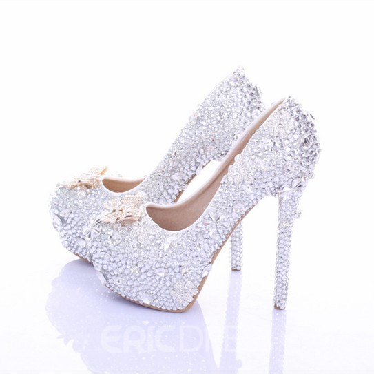 Ericdress Super Quality Luxurious Rhinestone Wedding Shoes