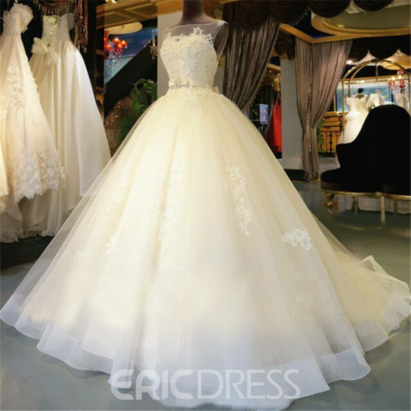 Beautiful Ball Gown Wedding Dresses: Ericdress Beautiful Ball Gown Wedding Dress 11609165