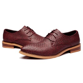 Ericdress British Lace up Point Toe Men's Oxfords