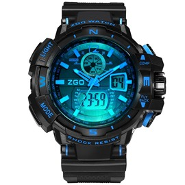 Ericdress Outdoor Luminous Digital Watch For Men