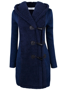 Ericdress Euro-American Style Warm Patchwork Coat