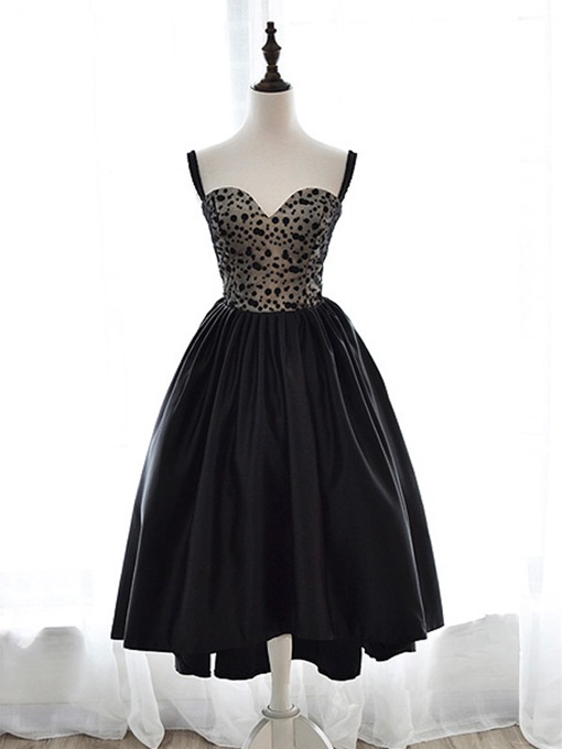 Ericdress Sweetheart Spaghetti Straps Lace Cocktail Dress