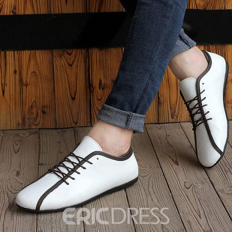 Ericdress Unique Lace up Men's Loafers