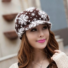 Snowflake Knitting Hat
