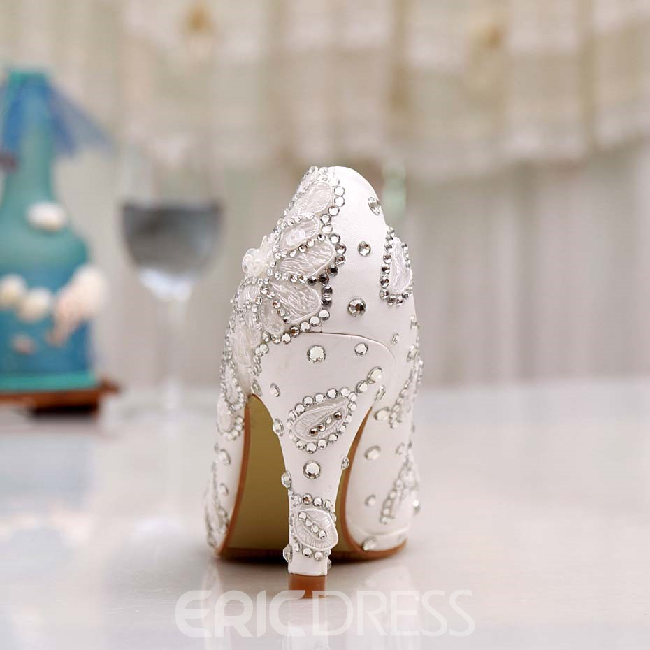 Ericdress Lace&rhinestone Wedding Shoes