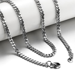 Simple Style Mens Necklace
