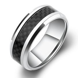 Personalized Men's Wide Ring