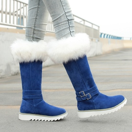 Ericdress Charming Furry Women's Knee High Boots