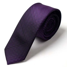 Ericdress Gradient Ultra Violet Men's Tie