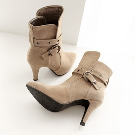 Ericdress Top Quality Point Toe High Heel Boots