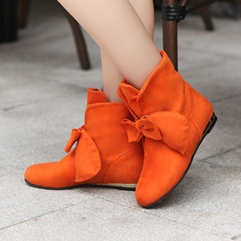 Ericdress Fashion Bowtie Decoration Ankle Boots