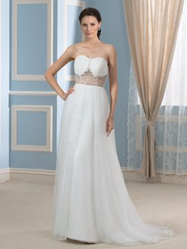 Ericdress Beautiful Sweetheart Beading A Line Wedding Dress