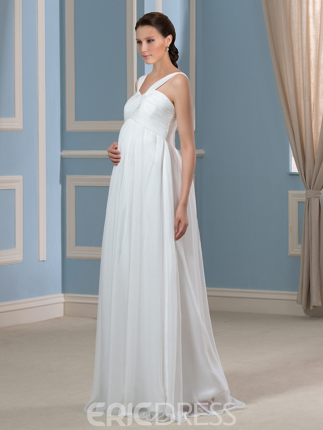 Ericdress Casual Straps Maternity Wedding Dress