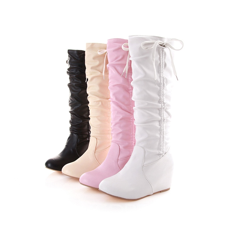 Ericdress Fresh Sweet Girl Knee High Boots
