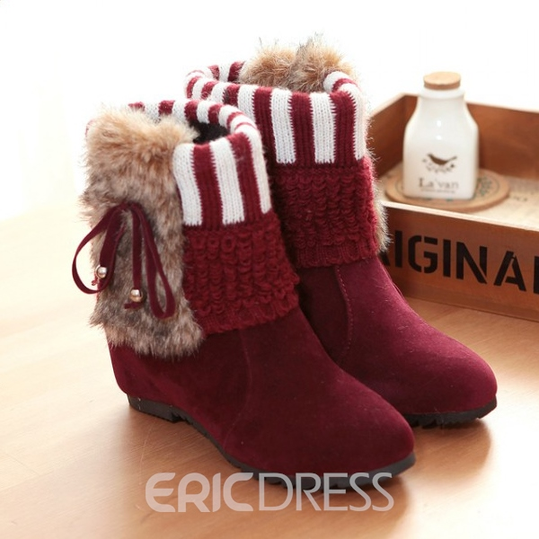 Ericdress Sweet Girl Ankle Boots