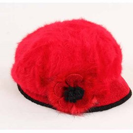 Ericdress Trendy Flower Furry Hat