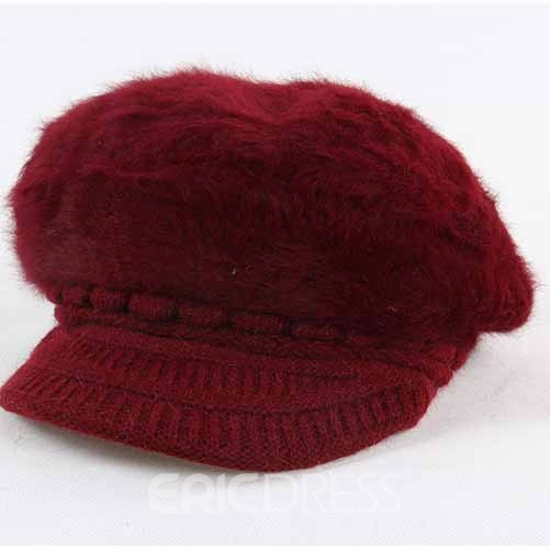 Ericdress Fashion Fur Knitted Hat