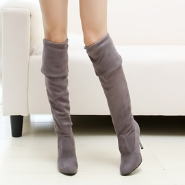 Ericdress ziemlich Knee High Boots(different ways to wear)