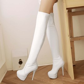 Ericdress moderne Lady Knee High bottes