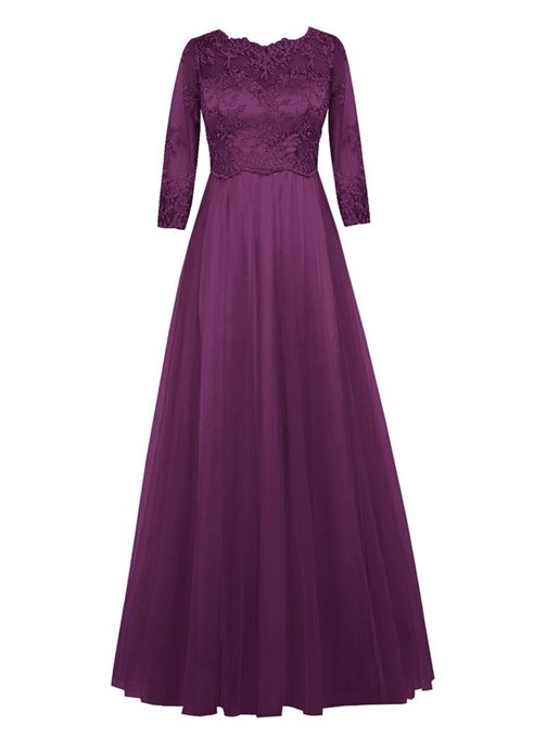 Ericdress 3/4 Length Sleeves Lace Mother of the Bride Dress