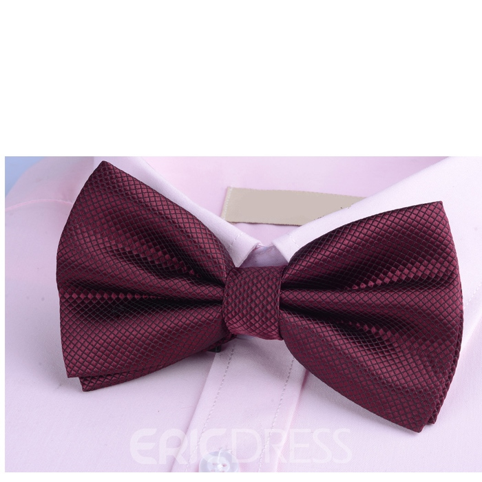 Ericdress Candy Color Leisure Men's Bowtie Tie