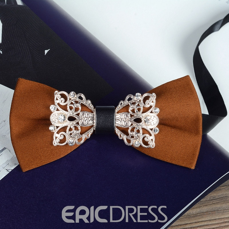 Ericdress Retro Alloy Wedding Tie for Men