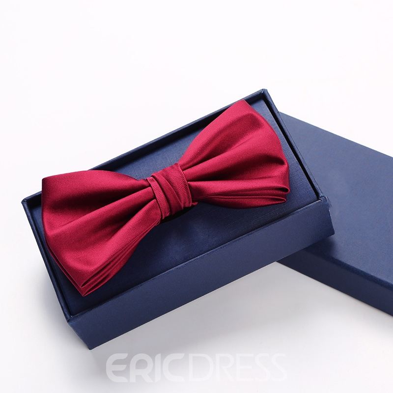 Ericdress Pure Color Men's Bow Tie for Wedding