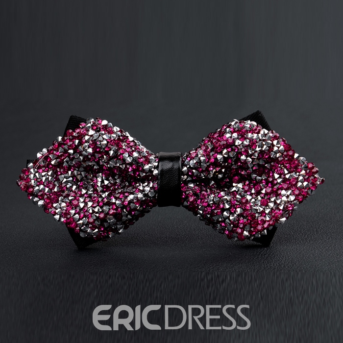 Ericdress High-End Fully Jewelled Bow Tie