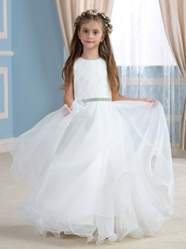 Ericdress Beautiful Lace Flower Girl Dress