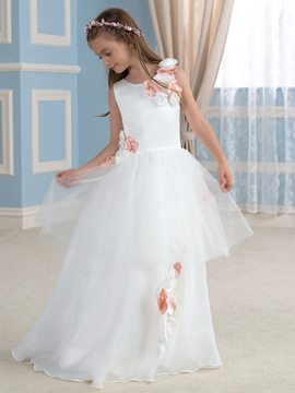 Ericdress Charming Flowers Flower Girl Dress